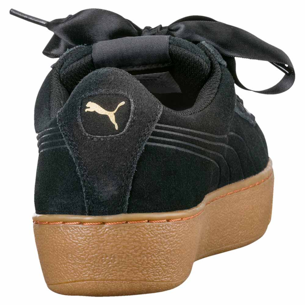 66b8fe11c302 Puma Vikky Platform Ribbon Black buy and offers on Dressinn