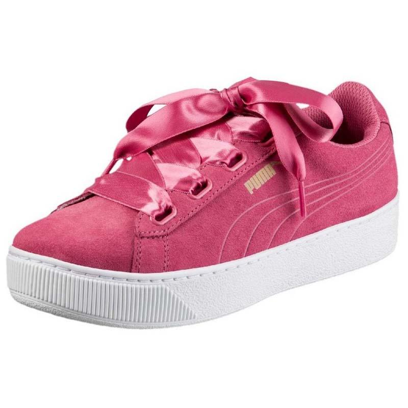 Puma Vikky Platform Ribbon Pink buy and offers on Dressinn 5c8deb1b7