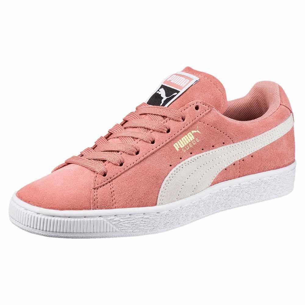 zapatillas puma suede mujer rosa