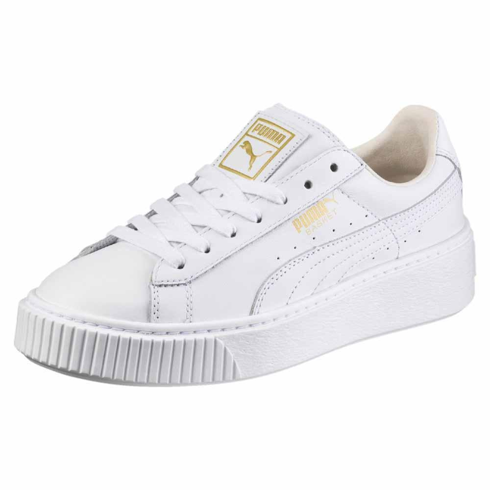 Puma select Basket Platform Core Blanc, Dressinn