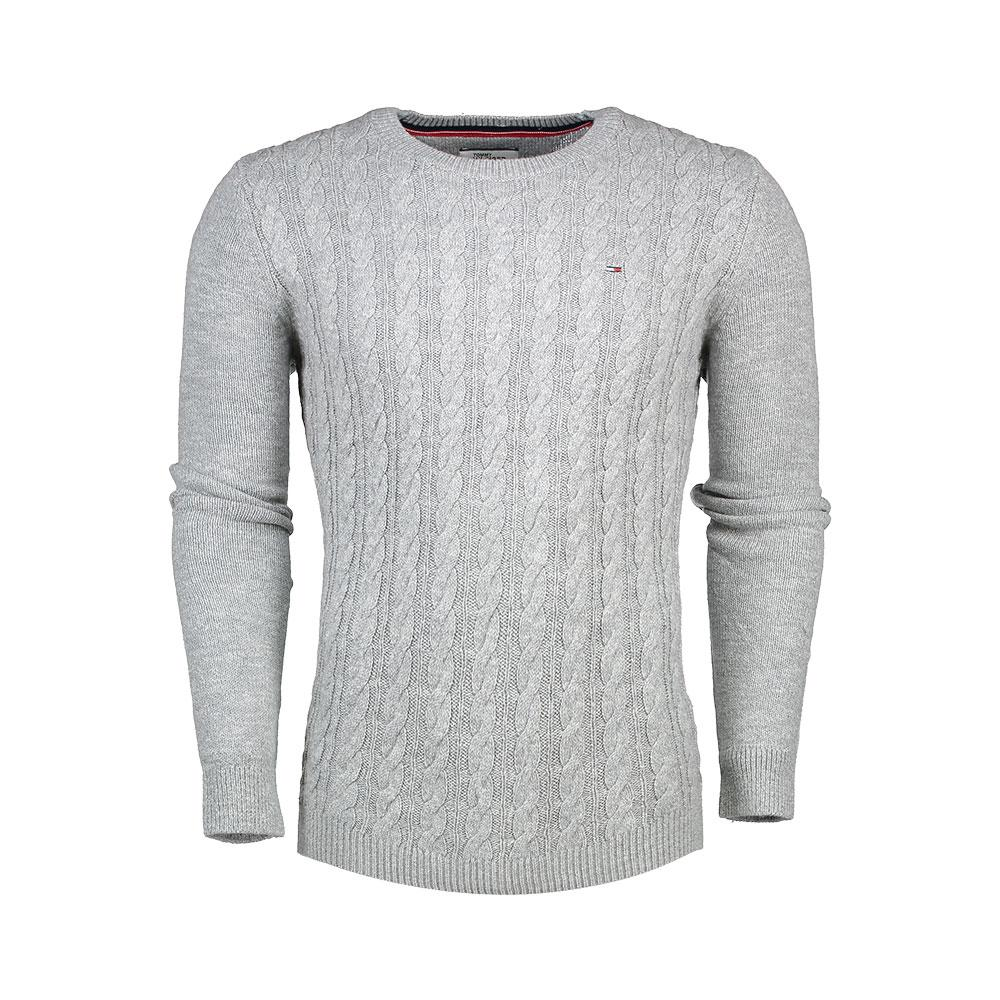 e178aaf38 Tommy hilfiger Basic Cable Cn Sweater Grey, Dressinn