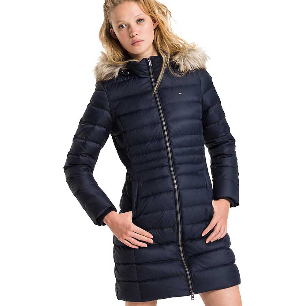 8a5a27ce Tommy hilfiger Basic Down Coat Blue buy and offers on Dressinn