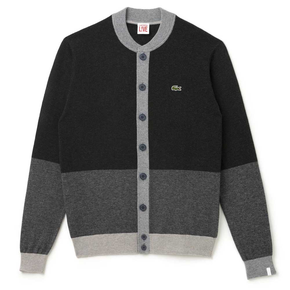 wholesale dealer best sale 100% top quality Lacoste Sweater Black buy and offers on Dressinn