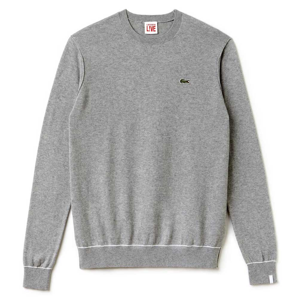 2e1fff7510 LACOSTE LIVE! Sweater Grey buy and offers on Dressinn