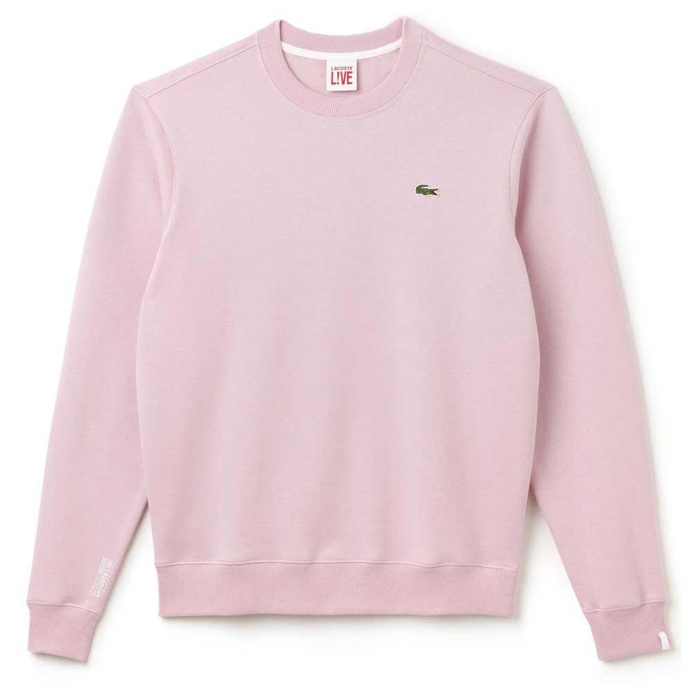 On Sweatshirt Buy Lacoste And Dressinn Pink Offers hrtsQCBdx