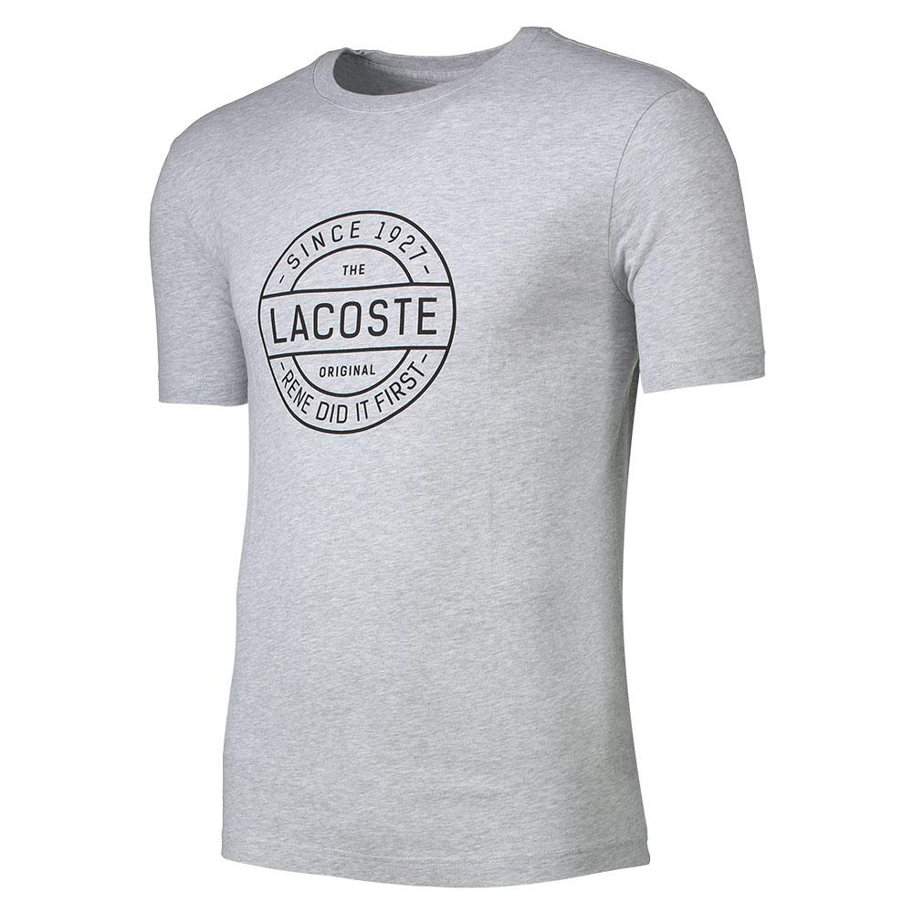 4d88b0f8e Lacoste T Shirt Grey buy and offers on Dressinn