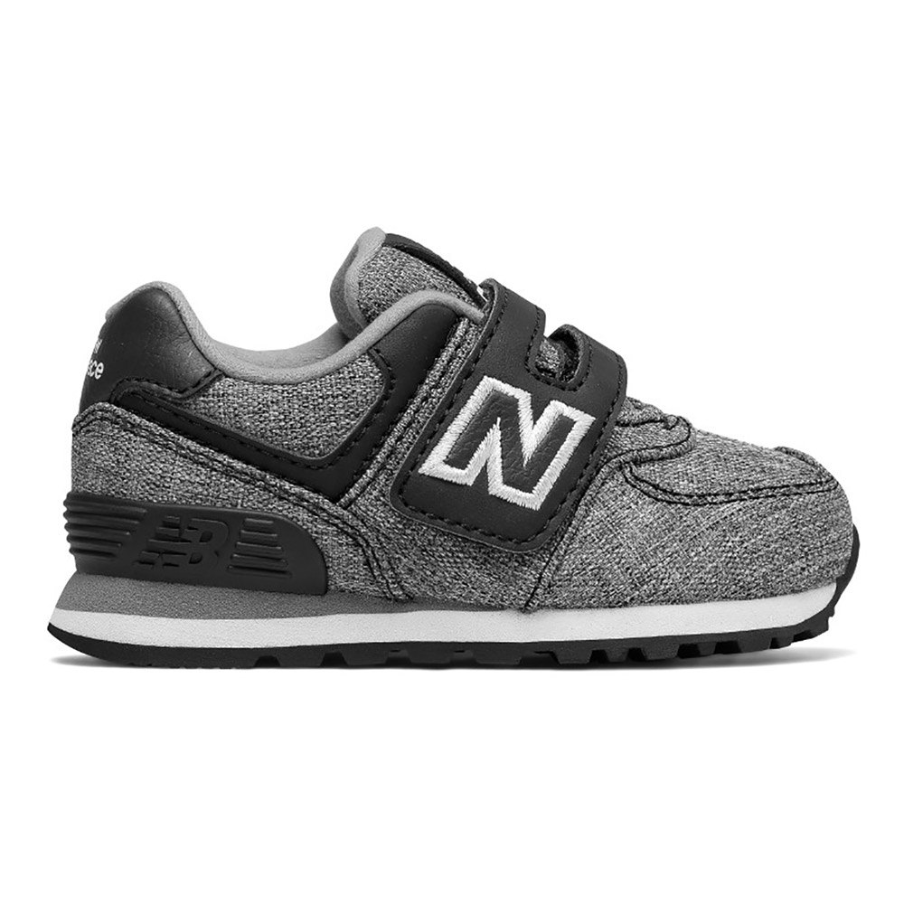 free shipping c0274 d3672 New balance 574 NB Wide Infant Black buy and offers on Dressinn