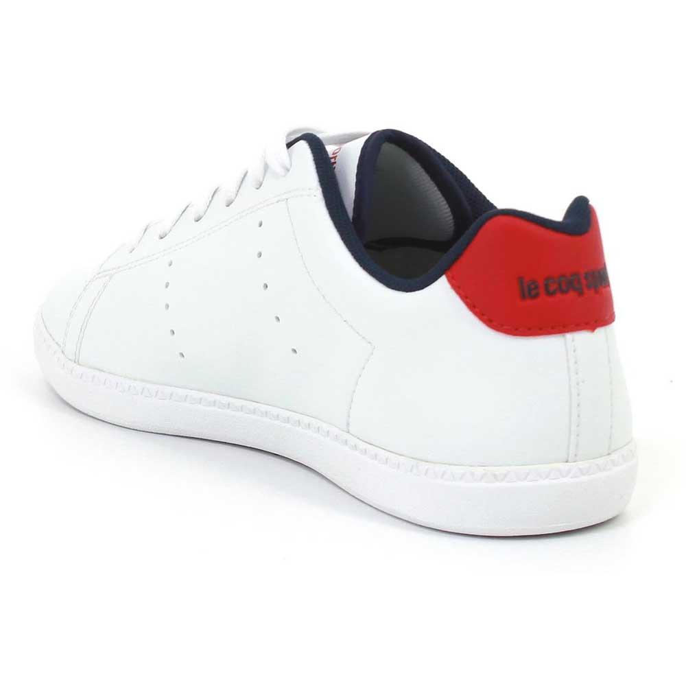 564f31849dbd Le coq sportif Courtone GS S Leather White