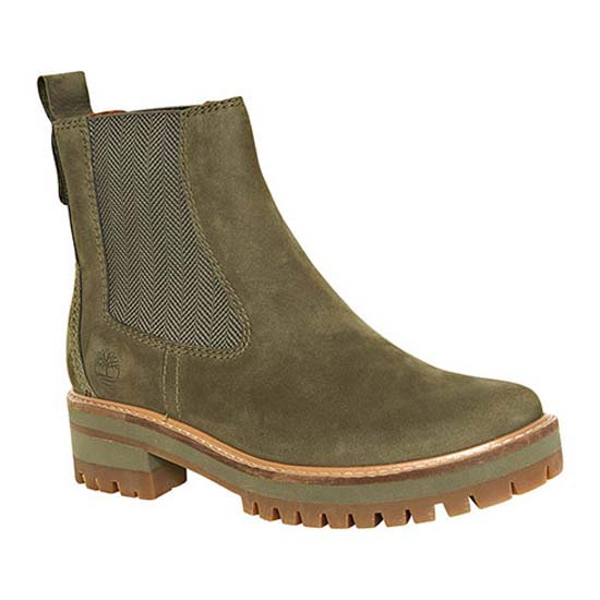 timberland courmayeur valley chelsea femme olive