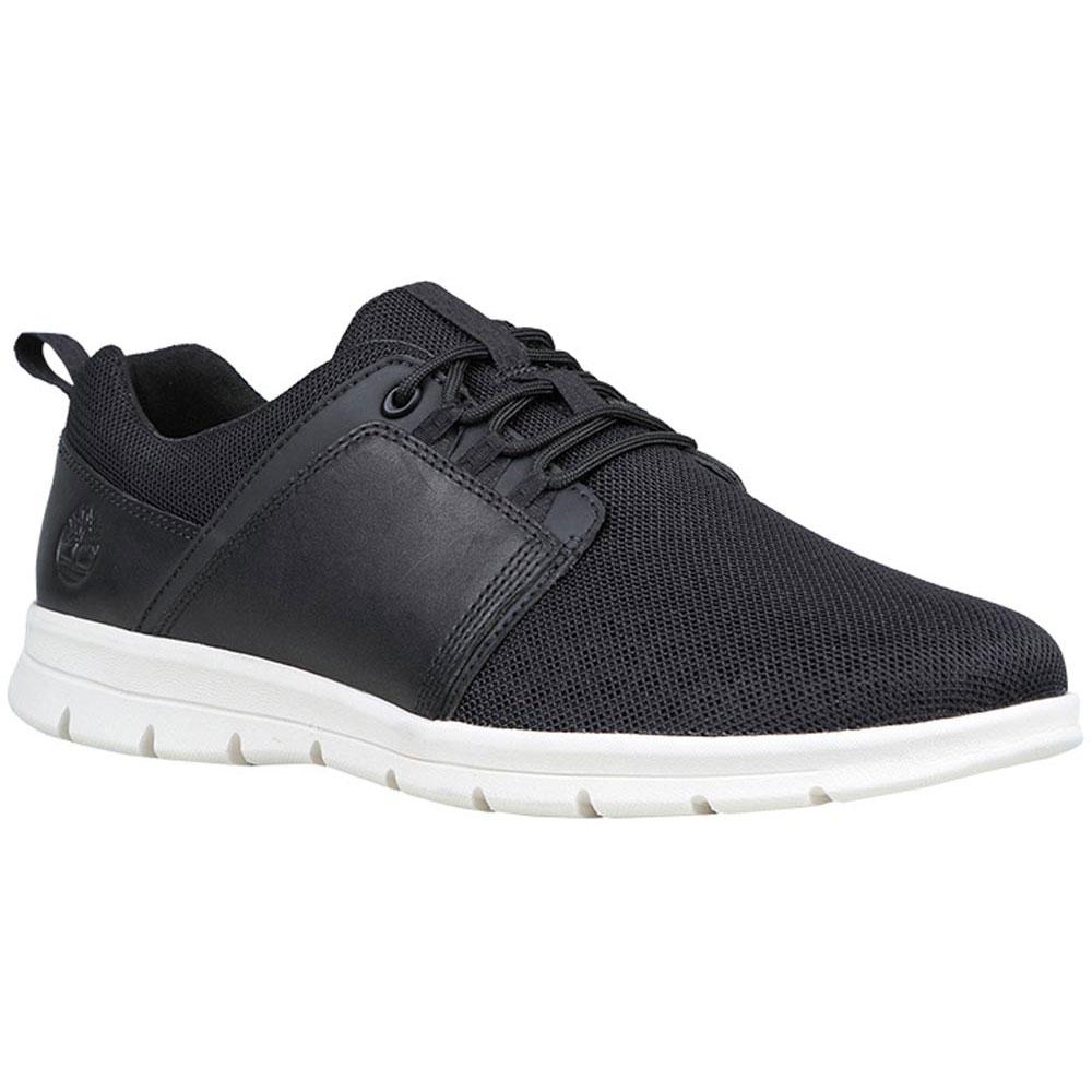 Timberland Graydon Leather Low Wide Schwarz, Dressinn