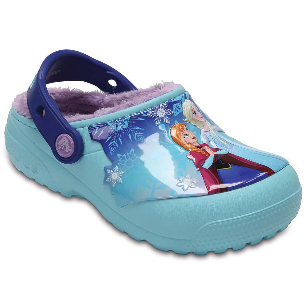 Crocs Kids Fun Lab Lined Frozen Clog