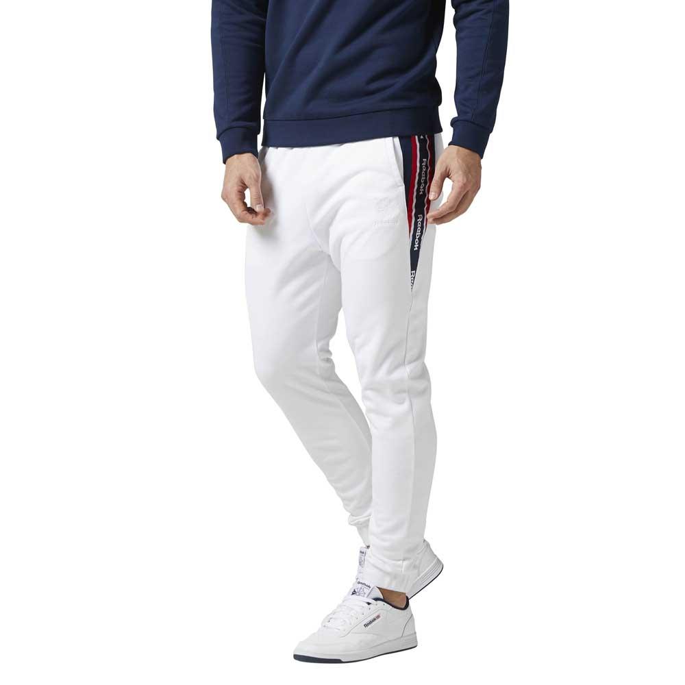 Reebok classics Foundation Franchise Track Pants White 4c84064cda82