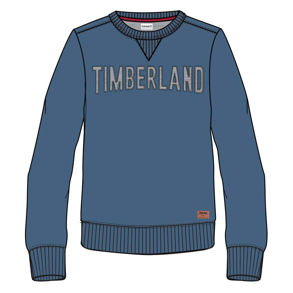 Timberland Stonybrook Crew Sweat Blå kjøp og tilbud