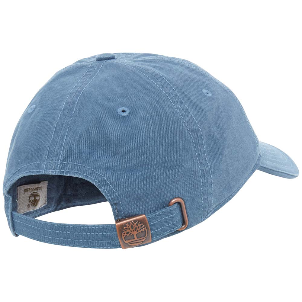 340678a7ef99c Timberland Sound View Cotton Canvas Cap Blu
