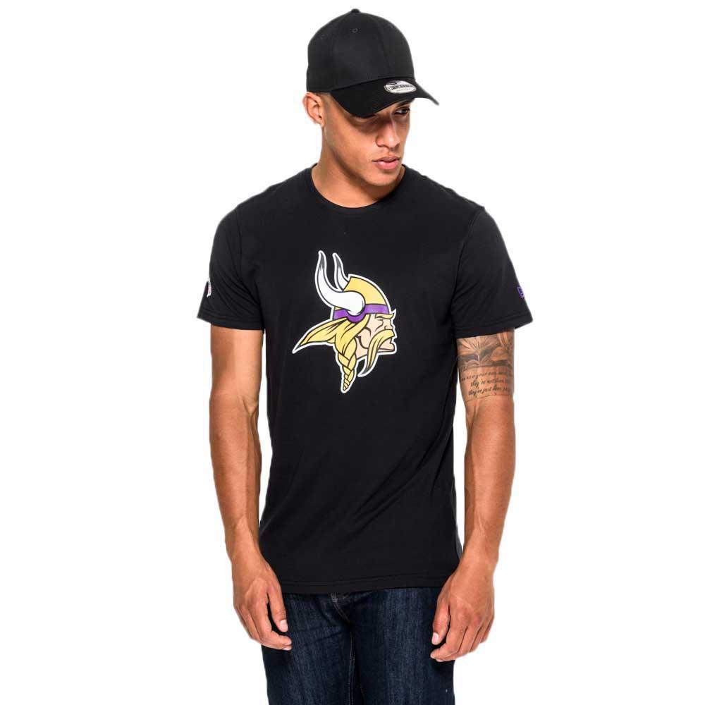 192ad812d New era Minnesota Vikings Team Logo Camiseta Negro