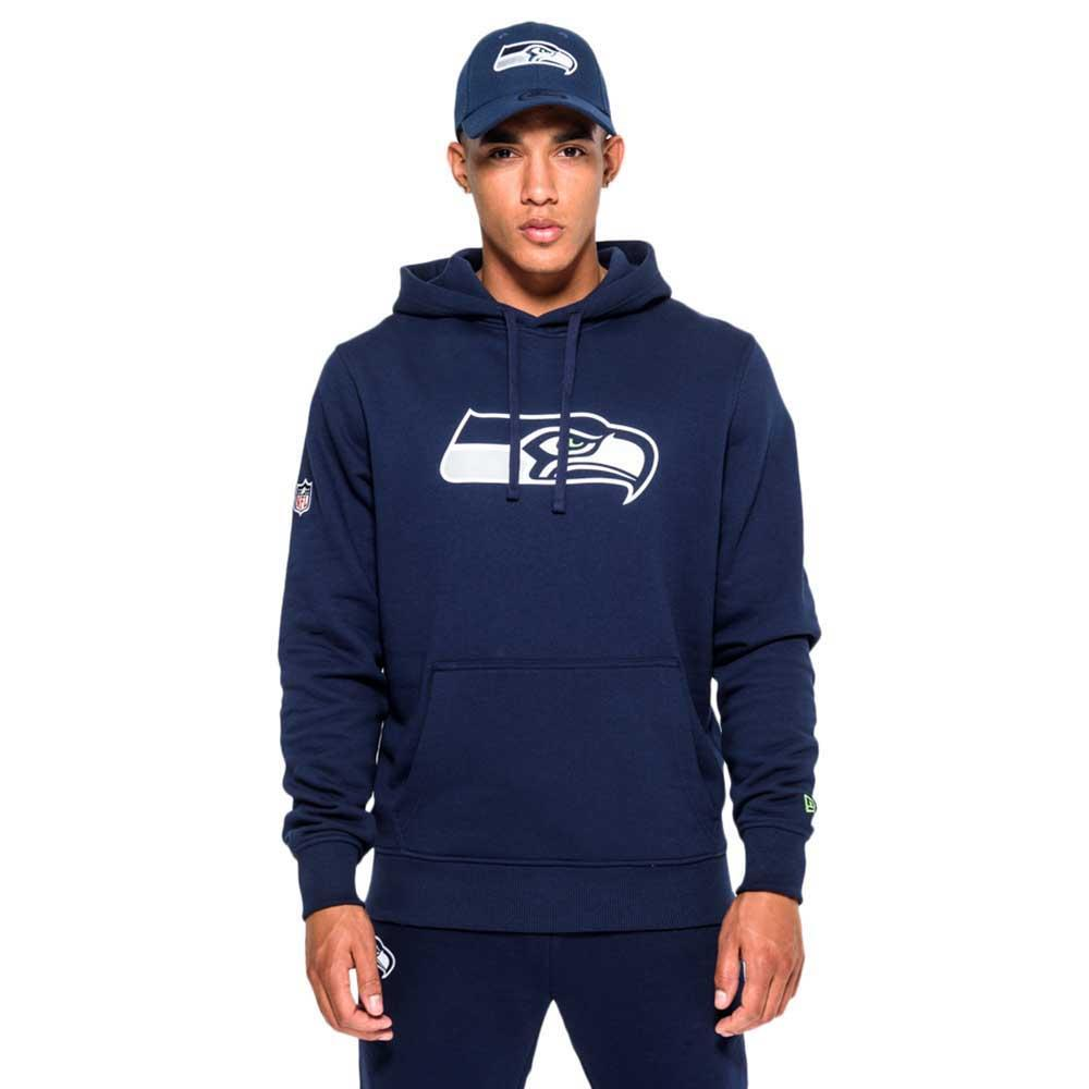 low priced 1969b 5c57c New era Seattle Seahawks Pullover Team Logo Hoodie