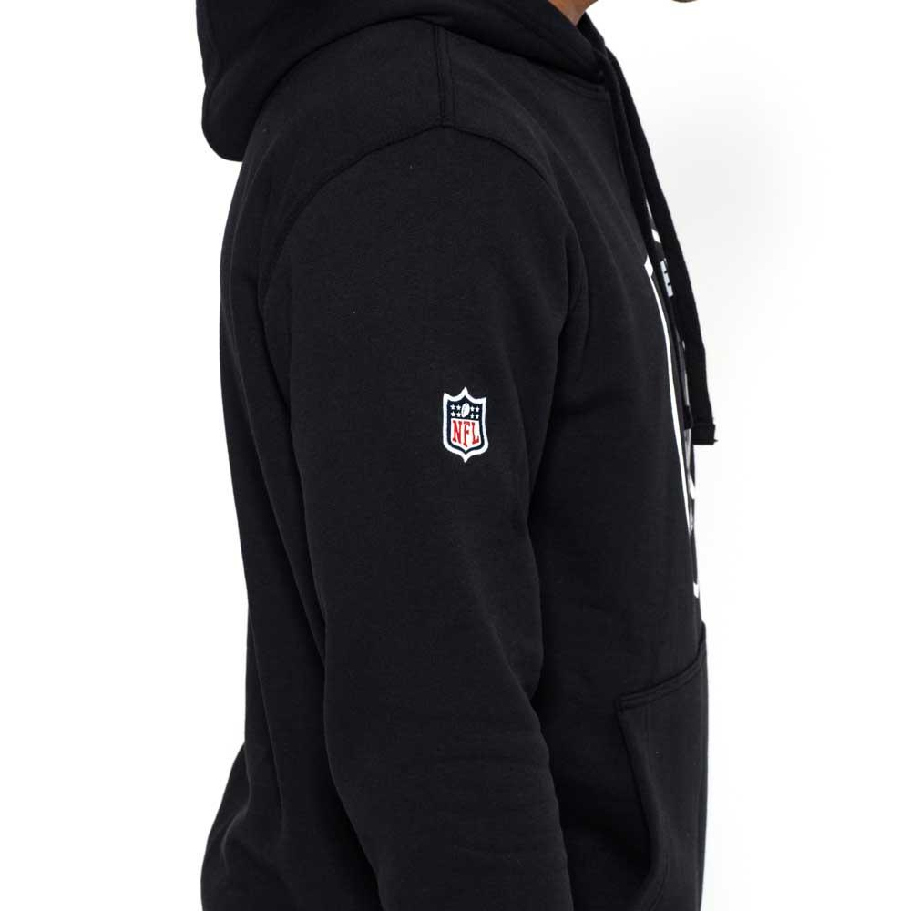 new era oakland raiders pullover team logo hoodie kup i. Black Bedroom Furniture Sets. Home Design Ideas