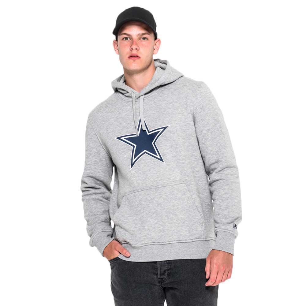 new era dallas cowboys pullover team logo hoodie kopen en. Black Bedroom Furniture Sets. Home Design Ideas