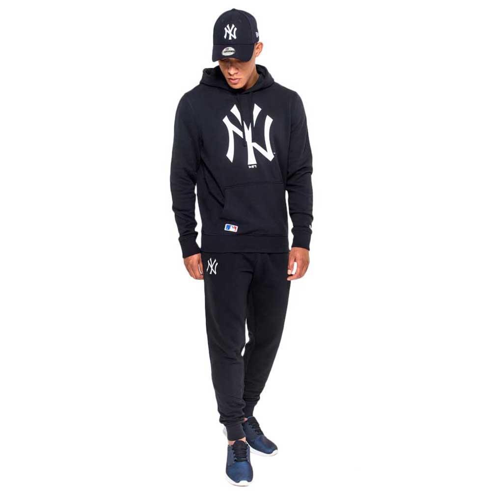 New era NY Yankees Pullover Hoodie Blue b8af7806455