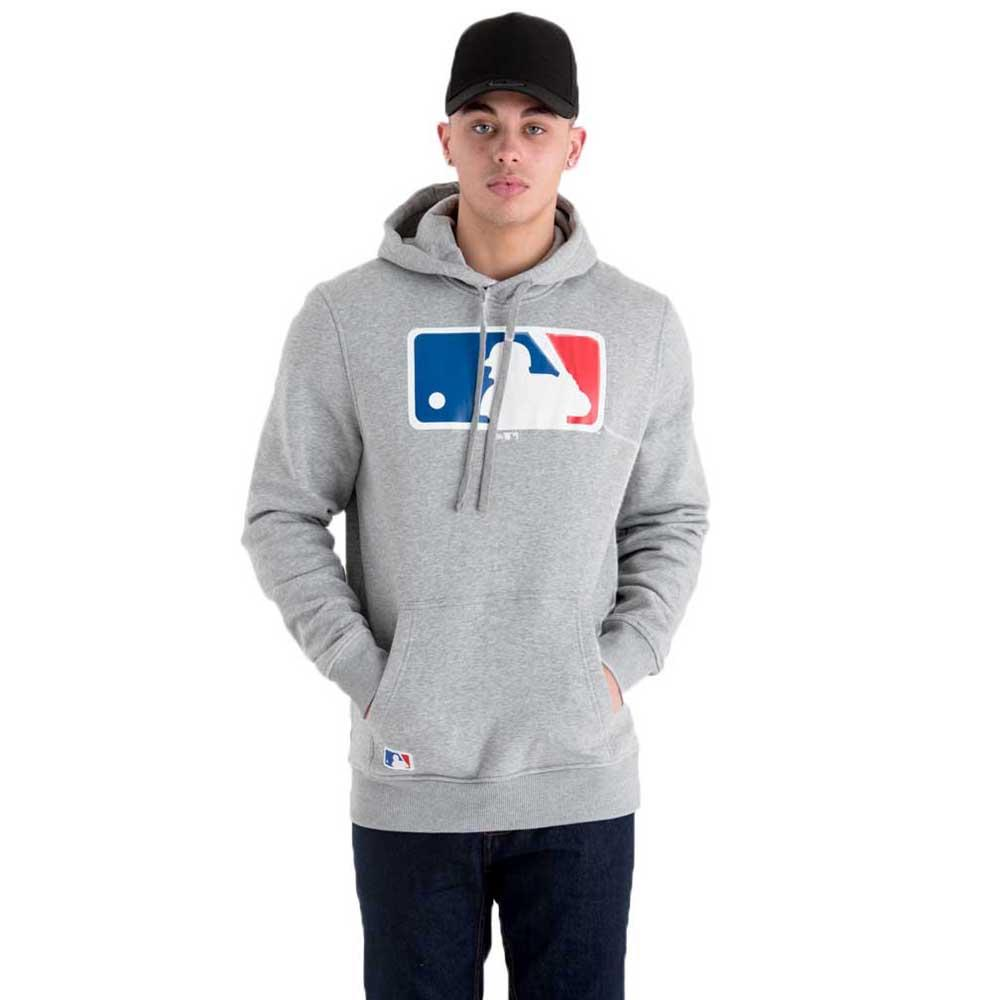 d2e57985fe3 New era MLB Logo Pullover Sudadera Gris, Dressinn