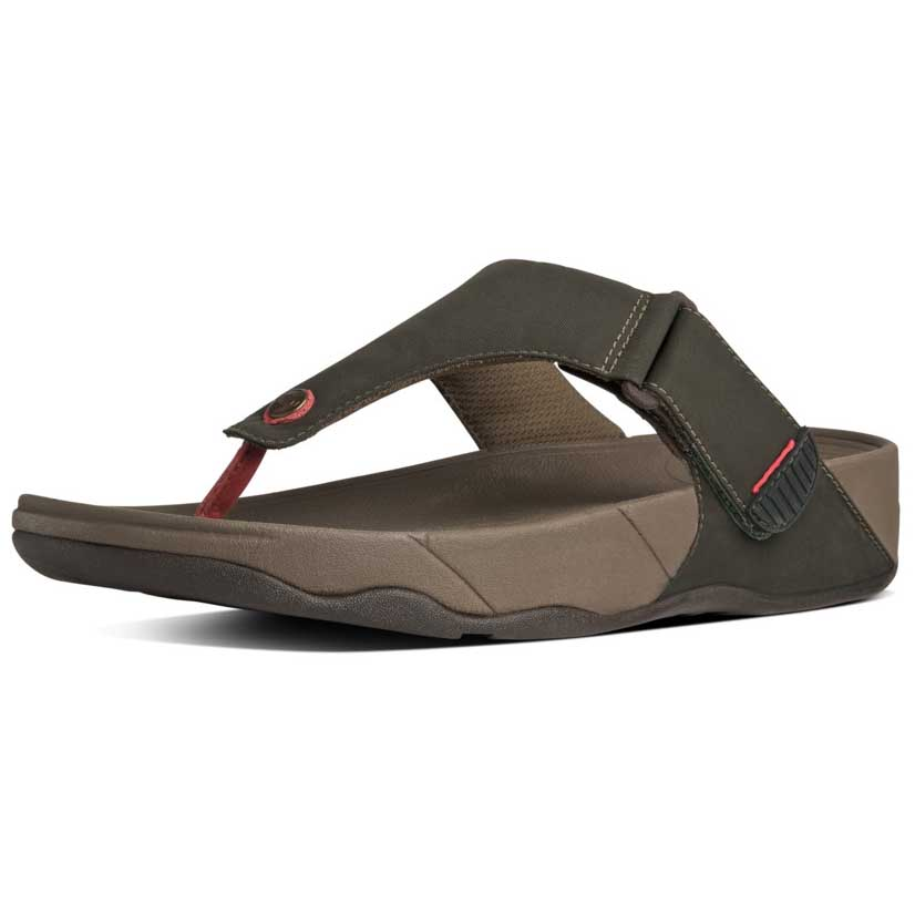 4b9e8bc58f6 Fitflop Trakk II In Textile Green buy and offers on Dressinn