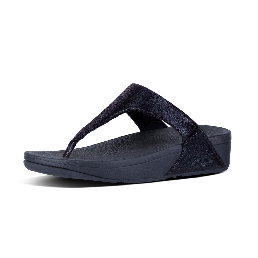 d29abd1111e Fitflop Shimmy Suede Toe-Post Blue buy and offers on Dressinn