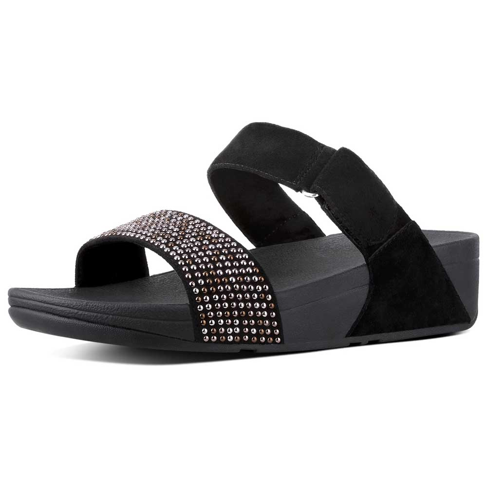 9d70f4e4c Fitflop Lulu Popstud Slide Black buy and offers on Dressinn