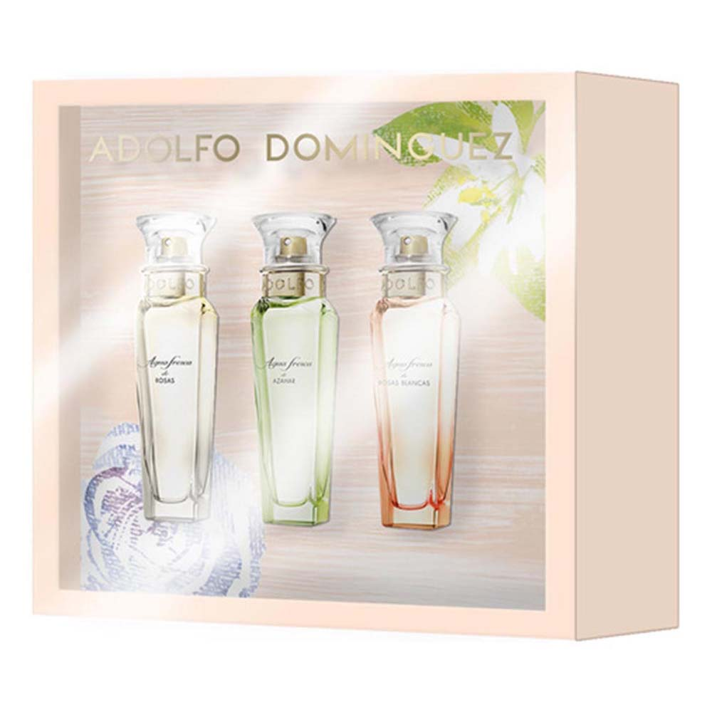 Adolfo-dominguez-fragrances Agua Fresca De Rosas Eau De Toilette 30ml Vapo+agua Fresca Azahar Eau De Toilette 30ml Vapo+agua Fresca Rosas Blancas Eau