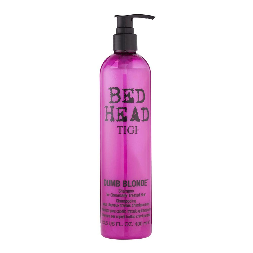 Tigi Fragrances Bed Head Dumb Blonde Shampoo For Treated Hair 400ml