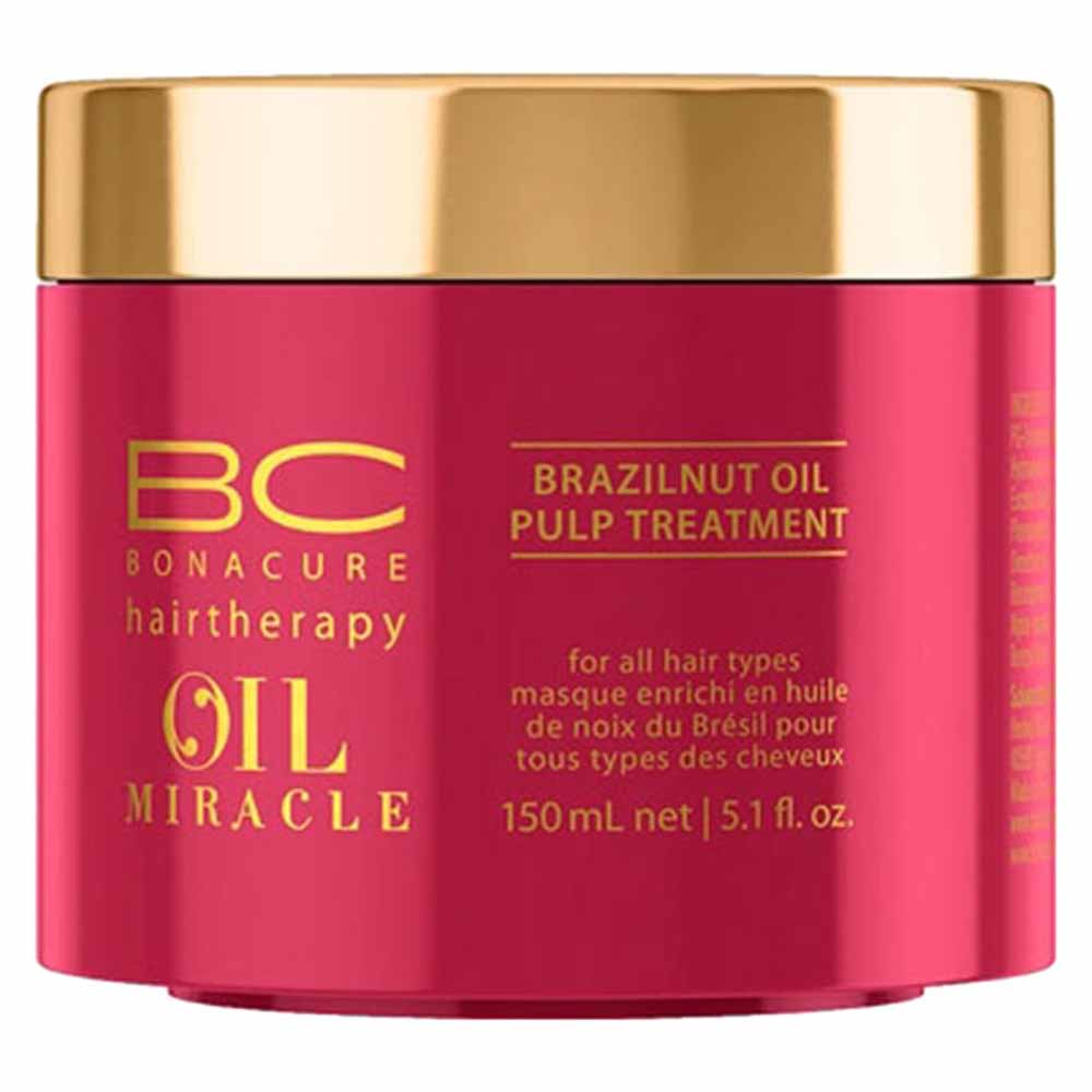 c540ce9210 Schwarzkopf fragrances Bonacure Oil Miracle Brazilnut Oil Pulp Treatment  150ml Red, Dressinn