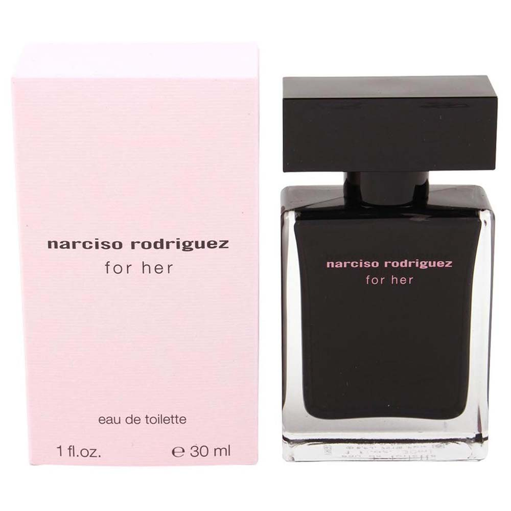 narciso rodriguez for her eau de toilette 30 ml buy and. Black Bedroom Furniture Sets. Home Design Ideas