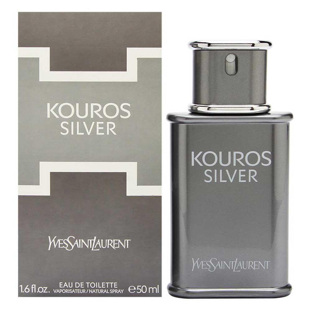 Fragrances Silver De Yves Toilette Laurent Eau 50ml Saint Kouros mNynwvO08