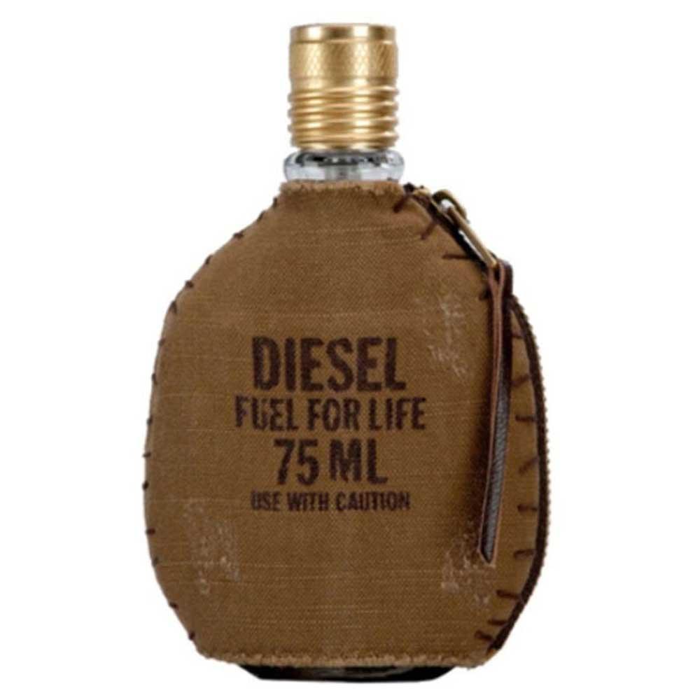 Diesel Otb Fragrances Fuel For Life Eau De Toilette 75ml Brown Dressinn