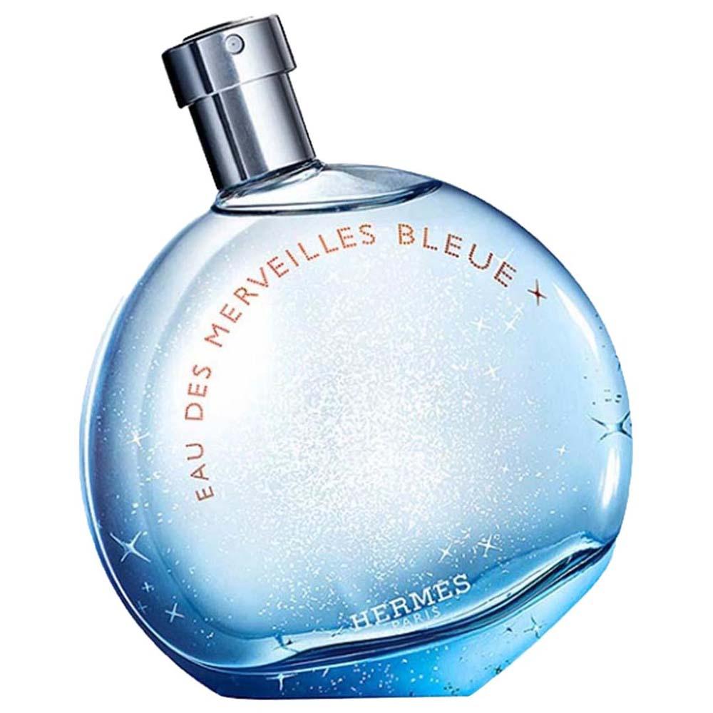 cc9e5cde4c Hermes paris fragrances Eau des Merveilles Bleue Eau De Toilette 100ml Clear,  Dressinn