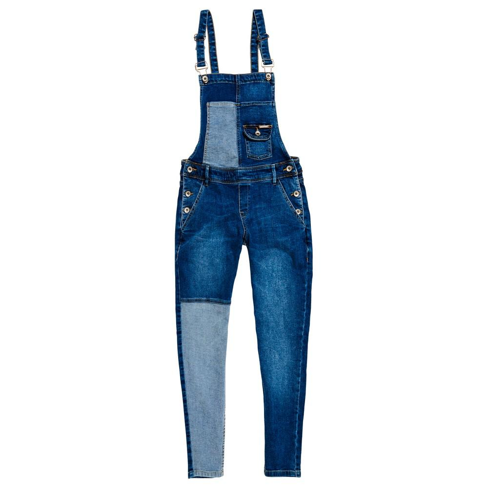 3626d10e70ff Superdry Emmins Dungaree Blue buy and offers on Dressinn