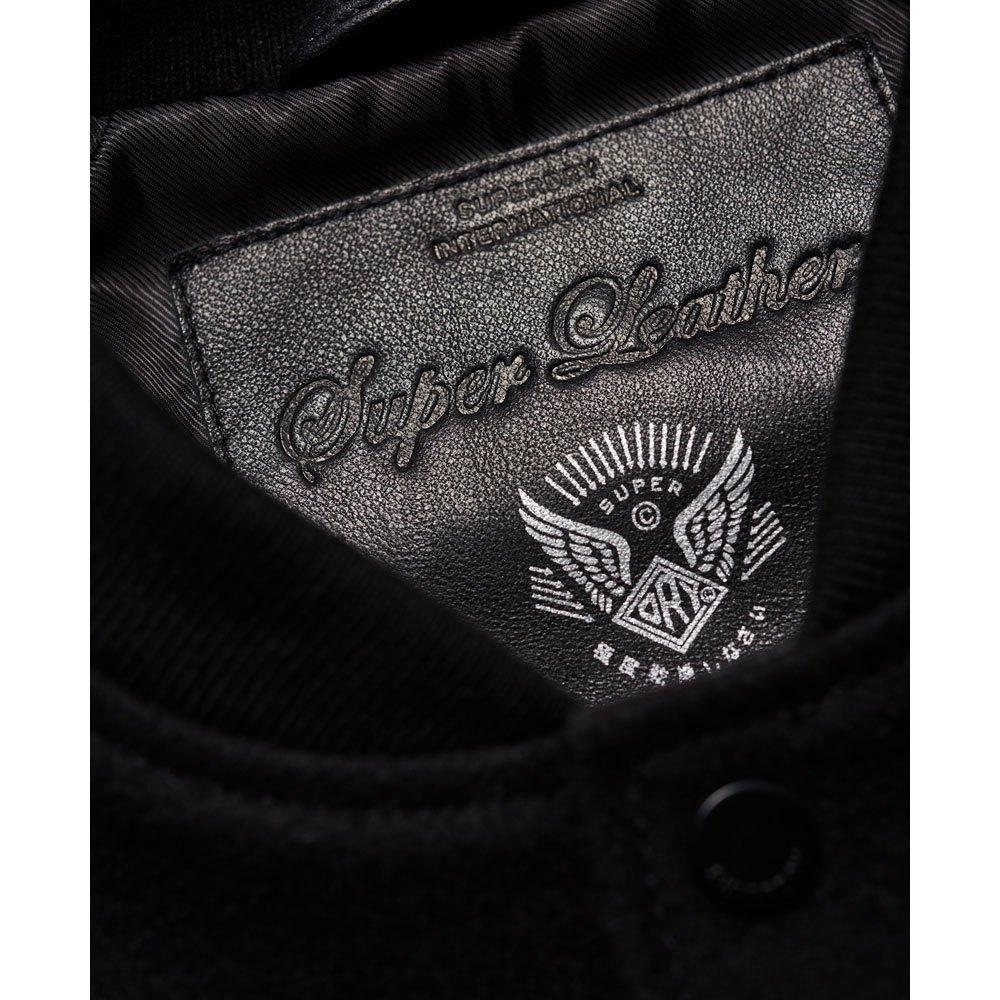 ee03e7286 Superdry Varsity Wool Leather Bomber