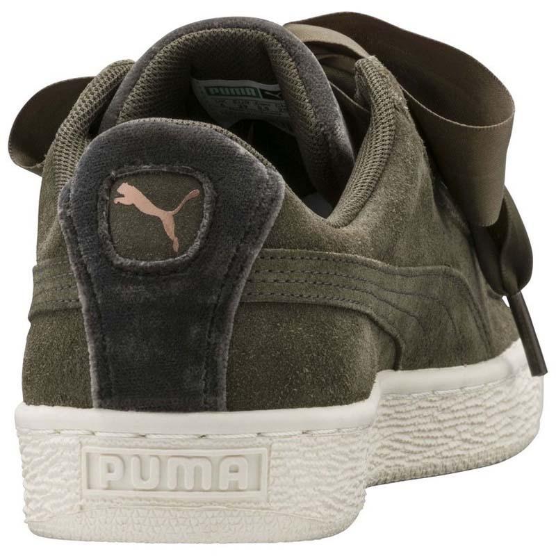 19d5d878ccda Puma Suede Heart VR Green buy and offers on Dressinn