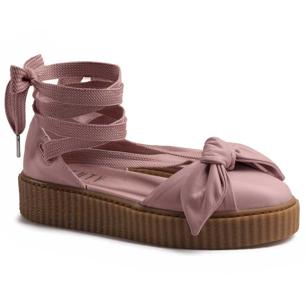 best cheap a6f37 b4376 Puma select Fenty Bow Creeper Pink buy and offers on Dressinn