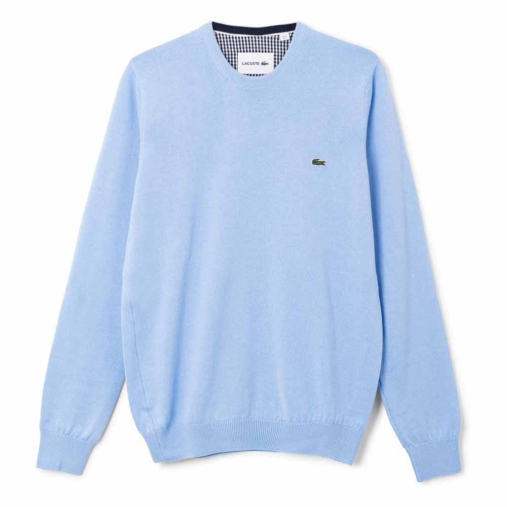 b3da78653461 Lacoste AH7418 Sweaters Blue buy and offers on Dressinn