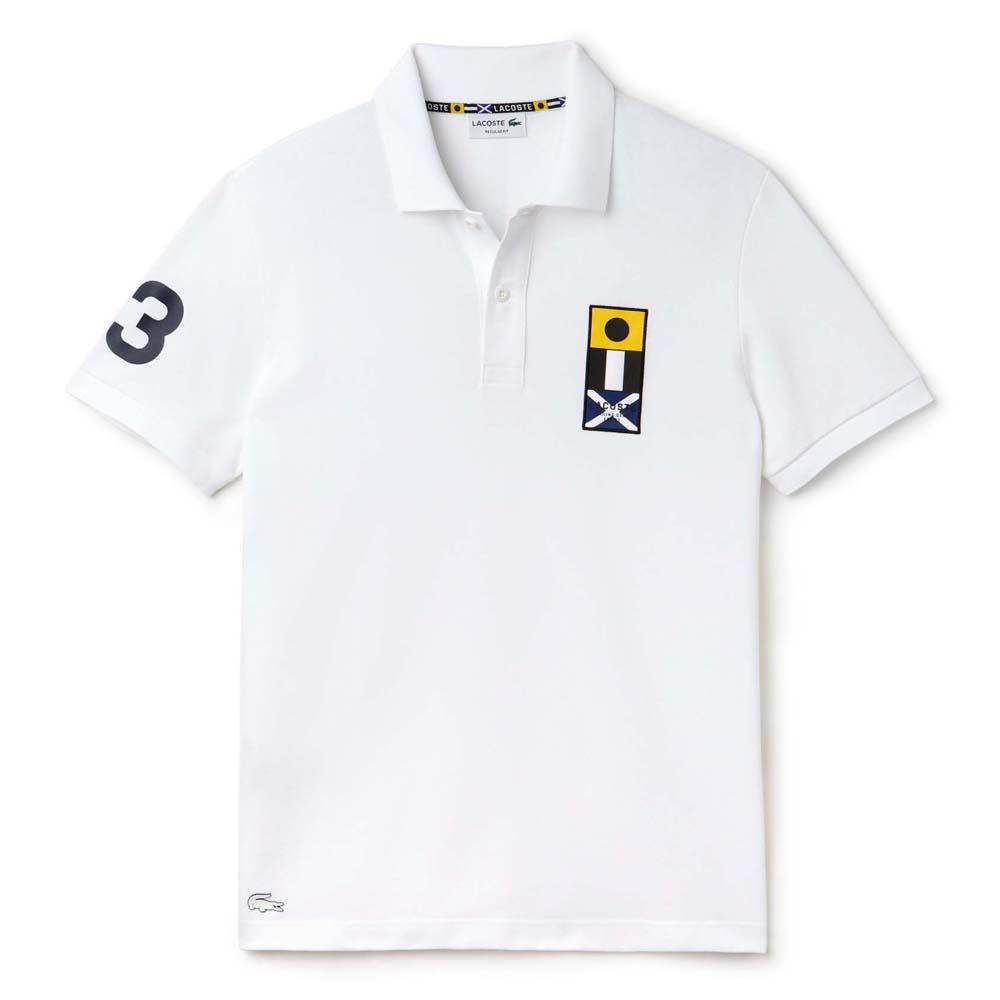 5b312b47c Lacoste PH8990 S/S Polo Biały kup i oferty, Dressinn Koszulki polo