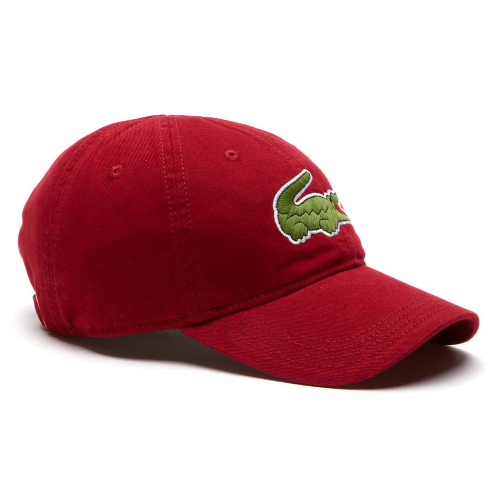 5d987de6ae3 Lacoste RK8217 Caps Red buy and offers on Dressinn