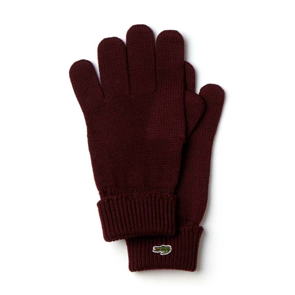 4a81a571c9d627 Lacoste Gloves Brown buy and offers on Dressinn