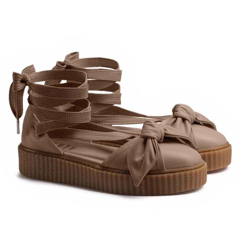 finest selection 0437d c14c5 Puma select Fenty Bow Creeper Sandal Brown, Dressinn