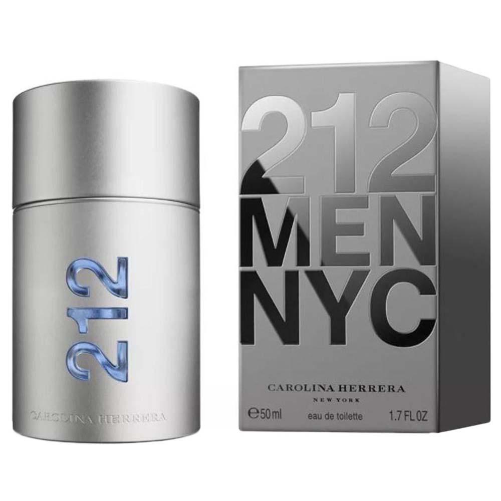 047671cd1 Carolina herrera fragrances 212 Men Eau De Toilette 50ml Vapo Silver ...