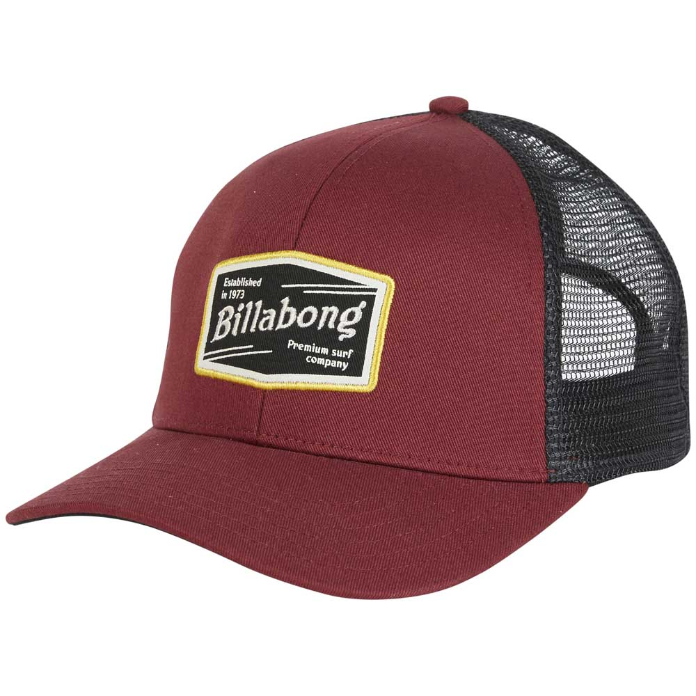 Billabong Walled Trucker Red buy and offers on Dressinn e8d4c9d80a6