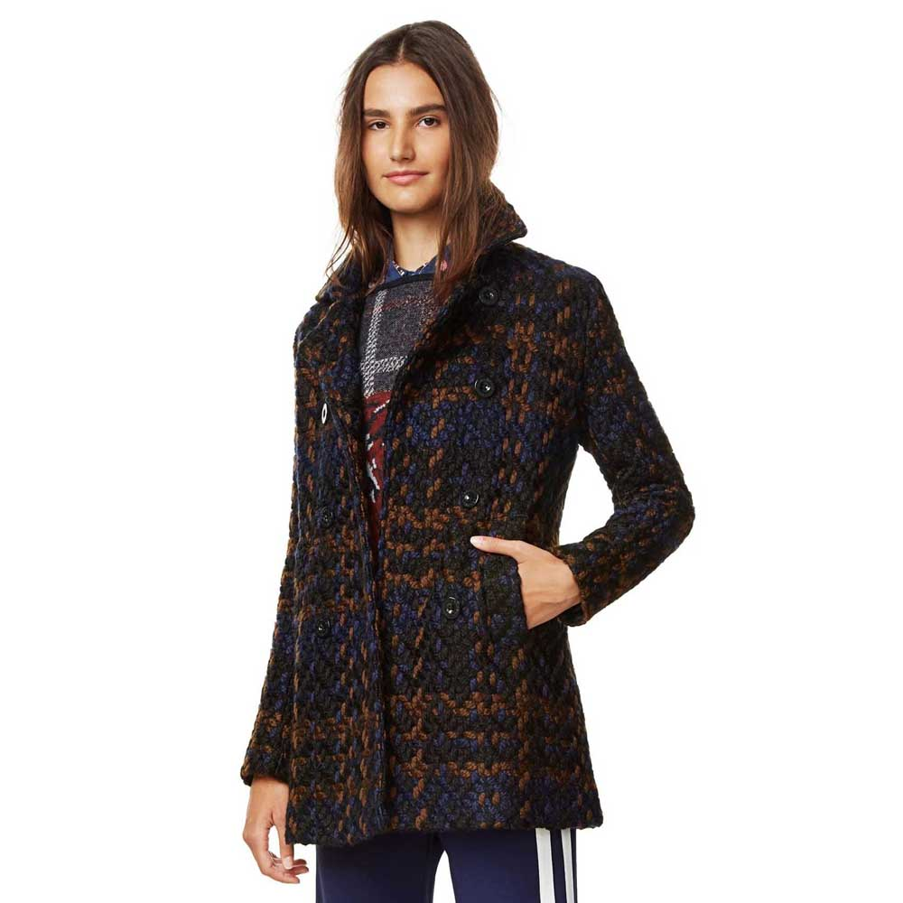 Coat On Dressinn Offers Desigual Blue Buy And rsQdth