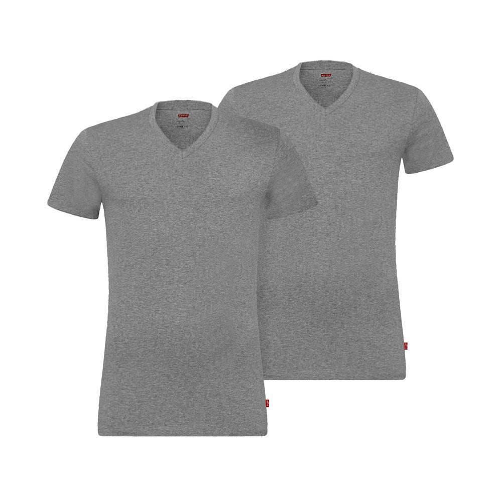 T-shirts Levis Underwear 200sf V Neck 2 Pack