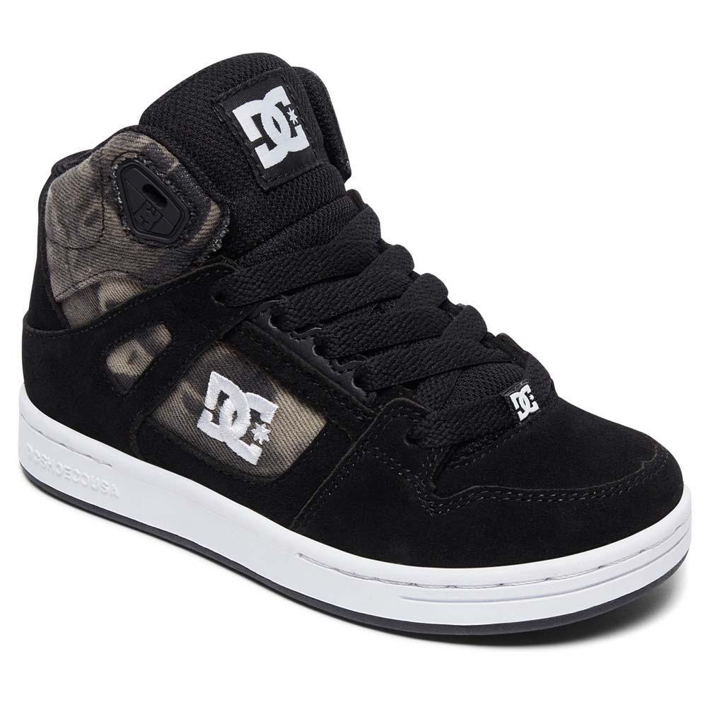 dc rebound shoes black