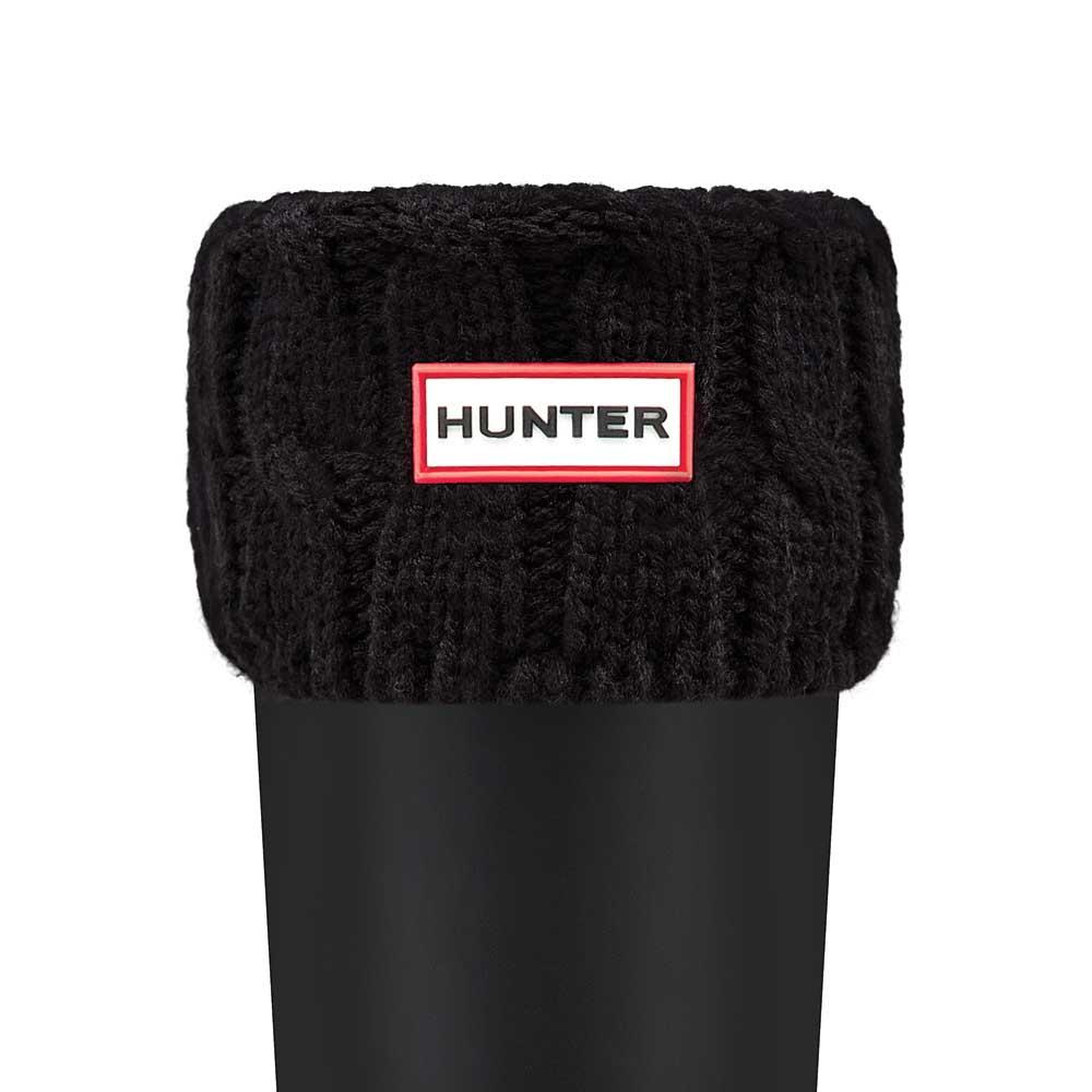 Hunter Original Six Stitch Cable Short Boot Hvit, Dressinn