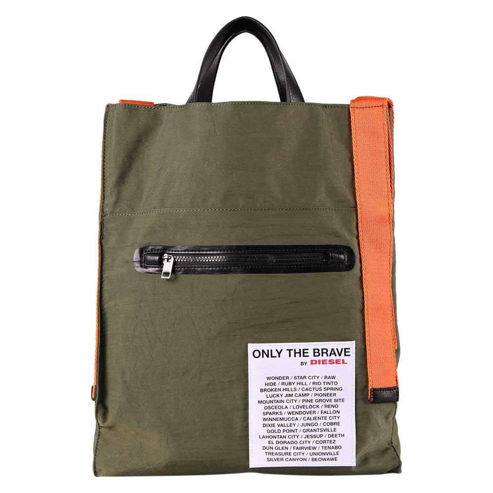 756ef43df6 Diesel XX Match Tote Green buy and offers on Dressinn